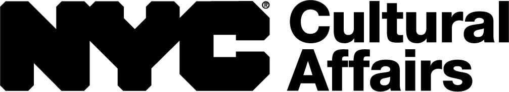 New York City Department of Cultural Affairs logo in black block text.