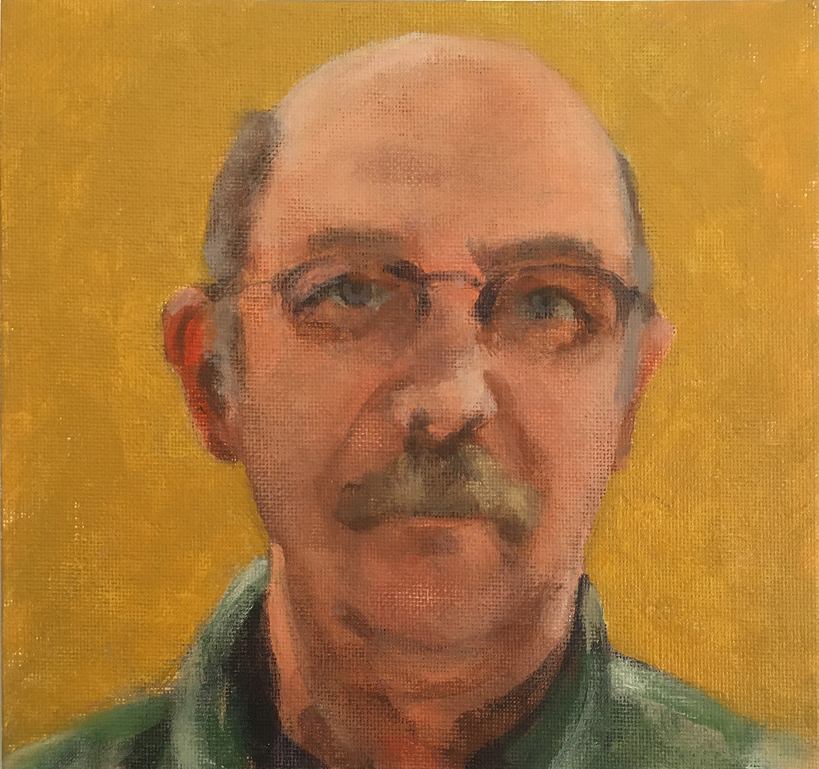 Kent Johnson Self Portrait